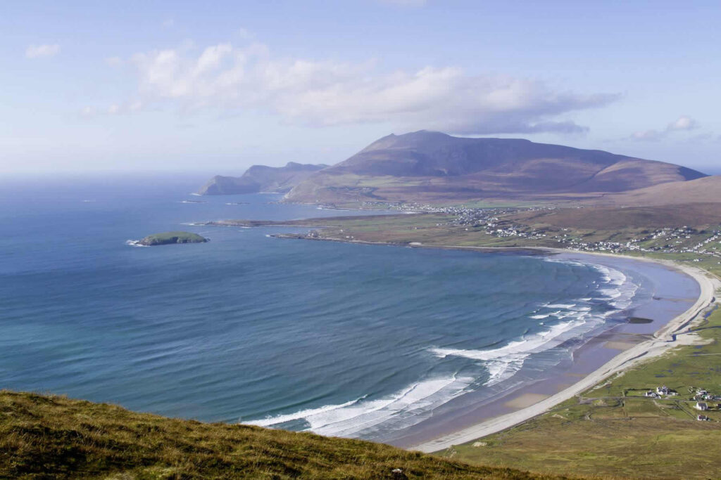 Keel Beach on Achill Island near Westport Mayo Ireland
